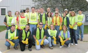 Martin Engineering participa en Adopt a Highway