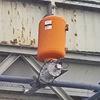 Roadstone utiliza cañones de aire para solucionar los atascamientos en la tolva